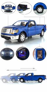 100 Toy Ford Trucks Msz 132 Ford 88410f150 Pickup Truck Metal Model Light Alloy Wind Up