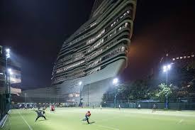 Jangho Curtain Wall Hong Kong Limited by Jockey Club Innovation Tower Hong Kong Polytechnic University