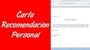 Ejemplo De Carta De Recomen PDF Document