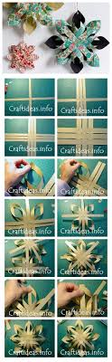 How To Make Paper Star DIY Step By Tutorial Instruction