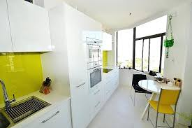 Kitchen Laminates Colours Gloss White Laminate With A Pop Of Colour Using Lime Green