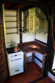 Steampunk Steamer Trunk - A Tiny House Contraption On Wheels | New ... Interior Steampunk Interior Design Modern Home Decorating Ideas A Visit To A Steampunked Modvic Stunning House And Planning 40 Incredible Lofts That Push Boundaries Astounding Bedroom 57 Further With Cool Decor Awesome On Room News 15 For Your Bar Bedrooms Marvellous 2017 Diy