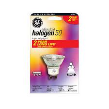 shop ge 50 watt indoor halogen flood light bulb energy at