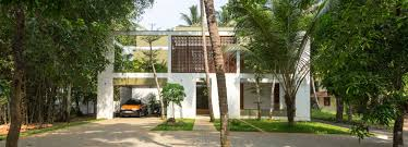 100 House In Nature In India LIJO RENYs Regimented House Is Immersed In Nature