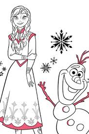 Frozen Coloring Book Download Colouring Pages Activities Disney Create