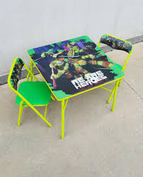Find More Teenage Mutant Ninja Turtles 3-piece Activity Table And ... Teenage Mutant Ninja Turtles Childrens Patio Set From Kids Only Teenage Mutant Ninja Turtles Zippy Sack Turtle Room Decor Visual Hunt Table With 2 Chairs Toys R Us Tmnt Shop All Products Radar Find More 3piece Activity And Nickelodeon And Ny For Sale At Up To 90 Off Chair Desk With Storage 87 Season 1 Dvd Unboxing Youtube