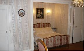 chambre alcove charming bed and breakfast near lisieux in normandy