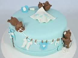 babyparty torte mit bärchen für jungen babyparty torte
