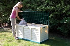 Keter Glenwood 390 Litre Deck Box by Plastic Garden Storage Box Keter Plastic It Out Garden Storage Box