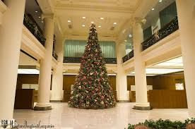 Large Lobby Christmas Tree