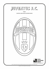 Impressionnant Cool Coloring Pages Soccer Clubs Logos Juventus F C