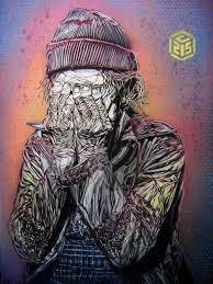100 C215 Art Hidden Face By Cristian Guemy Aka Art Street Art Graffiti