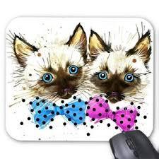 tapis de souris chat ref 3258 prix pas cher cdiscount