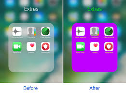 Customize the colors of your Home screen folders with FolderColor