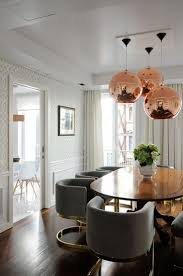 If You Want To Create The Perfect Mid Century Dining Room Then Go For A Copper Lighting Fixture Its Impossible Wrong Especially Choose One