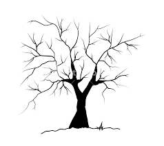 Arvore Morta Silhueta Clipart Family Tree Template Clip Art