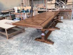 Custom Made Parquetry Dining Tables