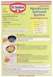 5 besondere mandarinen schmand kuchen dr oetker aviacia