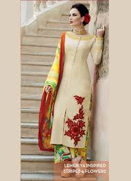 Vivacious Cotton Satin Beige Designer Palazzo Salwar Suit