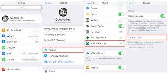How to Backup iPhone 4s 5s 6s 7 8 X to iTunes iCloud puter