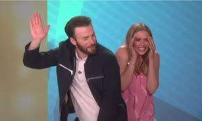 Chris Evans Elizabeth Olsens Ellen Appearance Makes For The Best Episode Ever VIDEOS