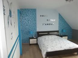 chambre bleu turquoise deco chambre turquoise gris 13 bleu reve cc 82tement mural