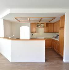 remodel woes kitchen ceiling and cabinet soffits centsational style