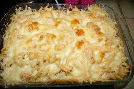 pates au blanc de poulet gratin de pâtes patosud cuisine