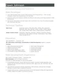 Sample Resume 2 Years Experience Testing Traditional Python Developer Pic