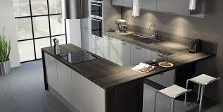 cuisine gris et noir cuisine gris et noir inspirations et cuisine moderne grise et