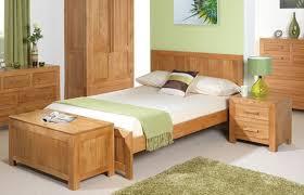 Teenage Bedroom Furniture Solid Oak Bed