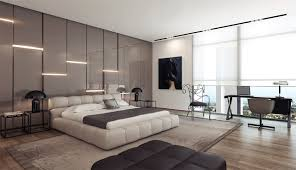 Recently Modern Bedroom Feature Wall