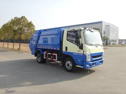China 5T Compression Rear Loading Garbage Truck - China 5t Truck ...