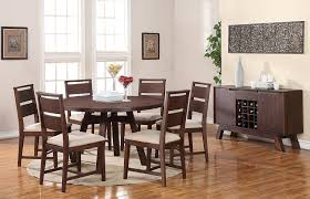 Wayfair Round Dining Room Table by Amazon Com Modus Furniture 7z4861 Portland Solid Wood Round