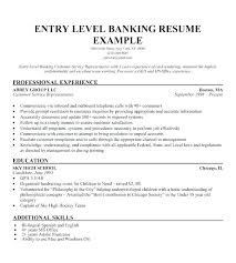 Marketing Resume Objective For Internship Example Of Career Objectives In Sample Banking Entry Level Ca