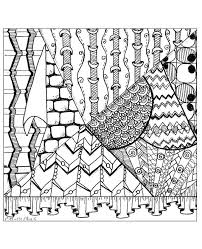 Illusion Exclusive Coloring Page See The Original Work From Gallery Zen Anti Stress Artist Cathy M