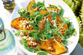 Japanese Pumpkin Recipe Roasted by Pumpkin U0026 Rocket Salad