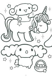 Collection Of Cute Kawaii Coloring Pages