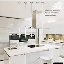 lukloy anhänger lichter moderne küche le esszimmer aluminium loft 3cm rohr spot küche insel licht bar zähler rohr le
