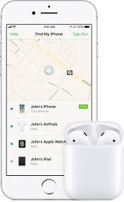 If your AirPods are lost Apple Support