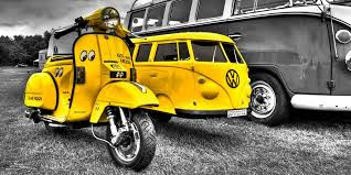 Vespa Splitty Sidecar