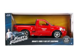 100 Fast And Furious Trucks Jada Diecast Metal 124 And Brians Ford F150 SVT