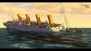 Roblox Rms Olympic Sinking by El Hundimiento Del H M H S Britannic