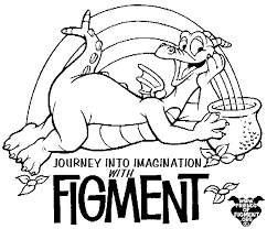 Figment Coloring Pages Free