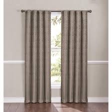 Walmart Eclipse Curtain Rod by Eclipse Campania Damask Blackout Energy Efficient Curtain Panel
