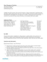 Salesforce Administrator Resume Examples Sample Entry Level Word Template