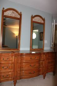 Kent Coffey Blonde Dresser by Kent Coffey Savonafrench Regency Bedroom Set She Finds Retro