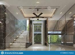 100 Modern Luxury Design Lift Lobby Interior Of Style Stock