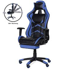 Best Choice Products Ergonomic High Back Executive Office Computer Racing  Gaming Chair W/ 360-Degree Swivel, 180-Degree Reclining, Footrest, ... Noblechairs Icon Gaming Chair Black Merax Office Pu Leather Racing Executive Swivel Mesh Computer Adjustable Height Rotating Lift Folding Best 2019 Comfortable Chairs For Pc And The For Your Money Big Tall Game Dont Buy Before Reading This By Workwell Pc Selling Chairpc Chaircomputer Product On Alibacom 7 Men Ultra Large Seats Under 200 Ultimate 10 In Rivipedia Top