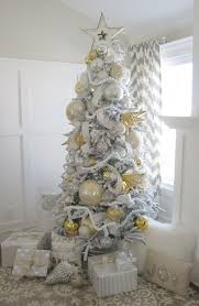 75 Slim Flocked Christmas Tree by Home Decor Holidays Parties U0026 Family Christmas Pinterest